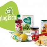 Nieuwe biologische producten in reclamefolder Albert Heijn